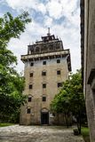 "Juli 2017 †""Kaiping, de toren van China - Tianlulou-in het dorp van Kaiping Diaolou Maxianglong, dichtbij Guangzhou stock afbeeldingen"