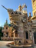 22 Juli 2017 - ` Benalmadena, Cadiz, Spanien för `-Colomares slott Arkivfoton