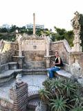 22 Juli 2017 - ` Benalmadena, Cadiz, Spanien för `-Colomares slott Royaltyfri Fotografi
