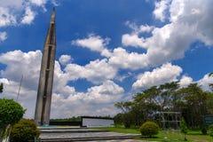 1,2017 juli bij het Nationale Heiligdom van Capas, Capas, Filippijnen Royalty-vrije Stock Afbeeldingen