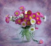 Juli-Blumenstrauß stockfoto