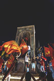 15. Juli Coup-Versuchs-Proteste in Istanbul Lizenzfreie Stockfotografie