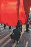 15. Juli Coup-Versuchs-Proteste in Istanbul Stockbild