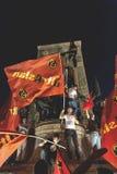 15. Juli Coup-Versuchs-Proteste in Istanbul Stockfotografie