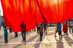 15. Juli Coup-Versuchs-Proteste in Istanbul Stockfotos