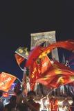 15 juli de Protesten van de Staatsgreeppoging in Istanboel Stock Afbeeldingen