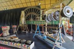 15,2017 juli de traditionele instrumenten van Filippijnen bij de villa S Stock Afbeeldingen