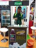 27. Juli 2016 die malaysische internationale Lebensmittel-u. Getränkehandelsmesse (MIFB) Stockbilder