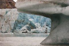 14 juli Gletsjer - Spitsbergen - Svalbard Royalty-vrije Stock Foto's