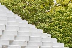 Juli 2016 - London, England: Die Serpentine Gallery Pavilion, d Lizenzfreie Stockfotografie