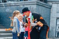 Juli 3, 2018 Minsk Vitryssland självständighetsdagen av Minsk royaltyfri foto