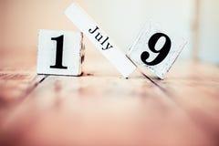 Juli 19. - 19. Juli - nationaler Daiquiri-Tag stockfotos