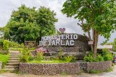 Juli 29, 2017 på Monasterioen de Tarlac arkivbilder
