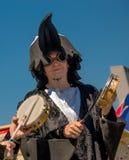 26. Juli 2015 Red Bull Flugtag Vor den Wettbewerbsanfängen Lizenzfreie Stockfotografie