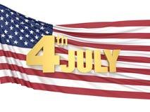 4 JULI självständighetsdagen royaltyfri foto
