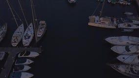 Juli 10, 2018 Skeppsdockor Gran Canaria, Spanien lager videofilmer
