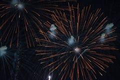 Juli 4th festligheter arkivfoto