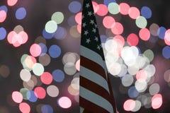 Juli 4th festligheter arkivbild