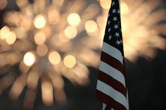 Juli 4th festligheter royaltyfri bild