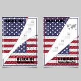 4. Juli Unabhängigkeitstaghintergrunddesign Nationaltag USA ho Stockfotografie