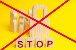 30 juli - Werelddag tegen Mensenhandel De mens is geen product Het kindmisbruik van het einde De conceptenslavernij gijzelaar, ex Stock Foto's