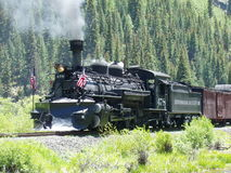 Juli-Zug zu Silverton Lizenzfreie Stockfotografie