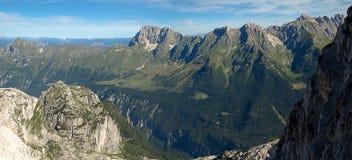 Juliańscy Alps, Włochy zdjęcia royalty free