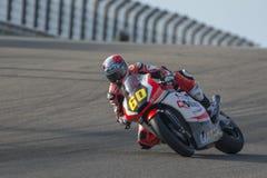 Juliański SIMON Moto2 Uroczysty Prix Movistar Aragà ³ n Obrazy Royalty Free