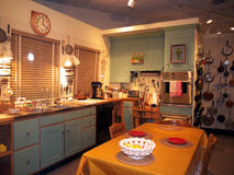 Julia Child's Kitchen at the Smithsonian. Julia Child's famous kitchen displayed at the Smithsonian Museum of American History. Photo taken on June 6 2011 in Stock Images