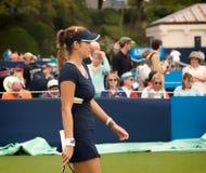 Julia Goerges in 2014 Aegon International (Eastbourne tennis Tournament) Royalty Free Stock Photos