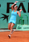 JULIA GOERGES (GER) at Roland Garros Stock Image