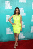 Julia Jones arriving at the 2012 MTV Movie Awards Stock Photo