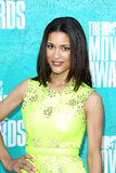 Julia Jones arriving at the 2012 MTV Movie Awards Royalty Free Stock Photography