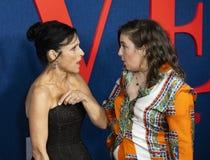 Julia Louis-Dreyfus and Lena Dunham at Premiere of Final Season of Veep