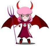 Julia o diabo ilustração royalty free