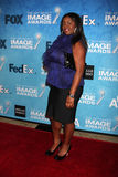 Julia Pace Mitchell arrives at the 2011 NAACP Image Awards Nominee Reception Royalty Free Stock Photo