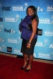 Julia Pace Mitchell kommt zu der 2011 der NAACP-Bild-Preis-Kandidaten-Aufnahme Stockfoto