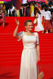 Julia Peresild at Moscow Film Festival Stock Photos