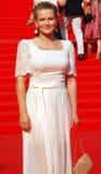 Julia Peresild at Moscow Film Festival Stock Image