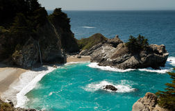 Julia Pfeiffer Burns State Park Royalty Free Stock Photography