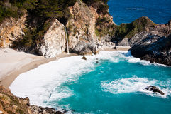 Julia Pfeiffer Burns State Park Royalty Free Stock Image