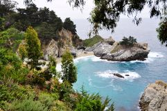 Julia Pfeiffer Burns State Park. This is picture was taken in Julia Pfeiffer Burns State Park, California Royalty Free Stock Photo