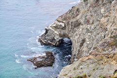 Julia Pfeiffer Burns State Park. This is picture was taken in Julia Pfeiffer Burns State Park, California Stock Images