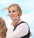 Julia Roberts assiste au ` de monstre d'argent de ` Photographie stock