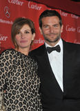 Julia Roberts & Bradley Cooper fotografia stock libera da diritti
