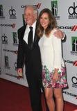 Julia Roberts & Jerry Weintraub Royaltyfri Fotografi
