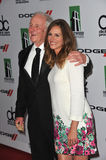 Julia Roberts & Jerry Weintraub Foto de Stock Royalty Free