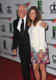 Julia Roberts & Jerry Weintraub Royalty Free Stock Photography