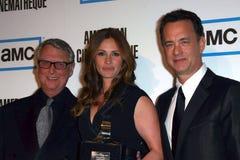 Julia Roberts, Mike Nichols, Tom Hanks Stock Photos