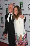 Julia Roberts y Jerry Weintraub Foto de archivo libre de regalías